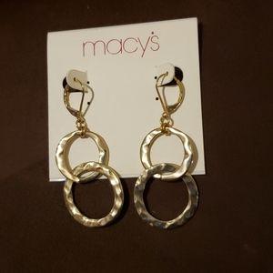 Macy's Drop Earrings